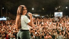 Lebanese star Haifa Wehbe's revealing shorts cause a stir in Egypt