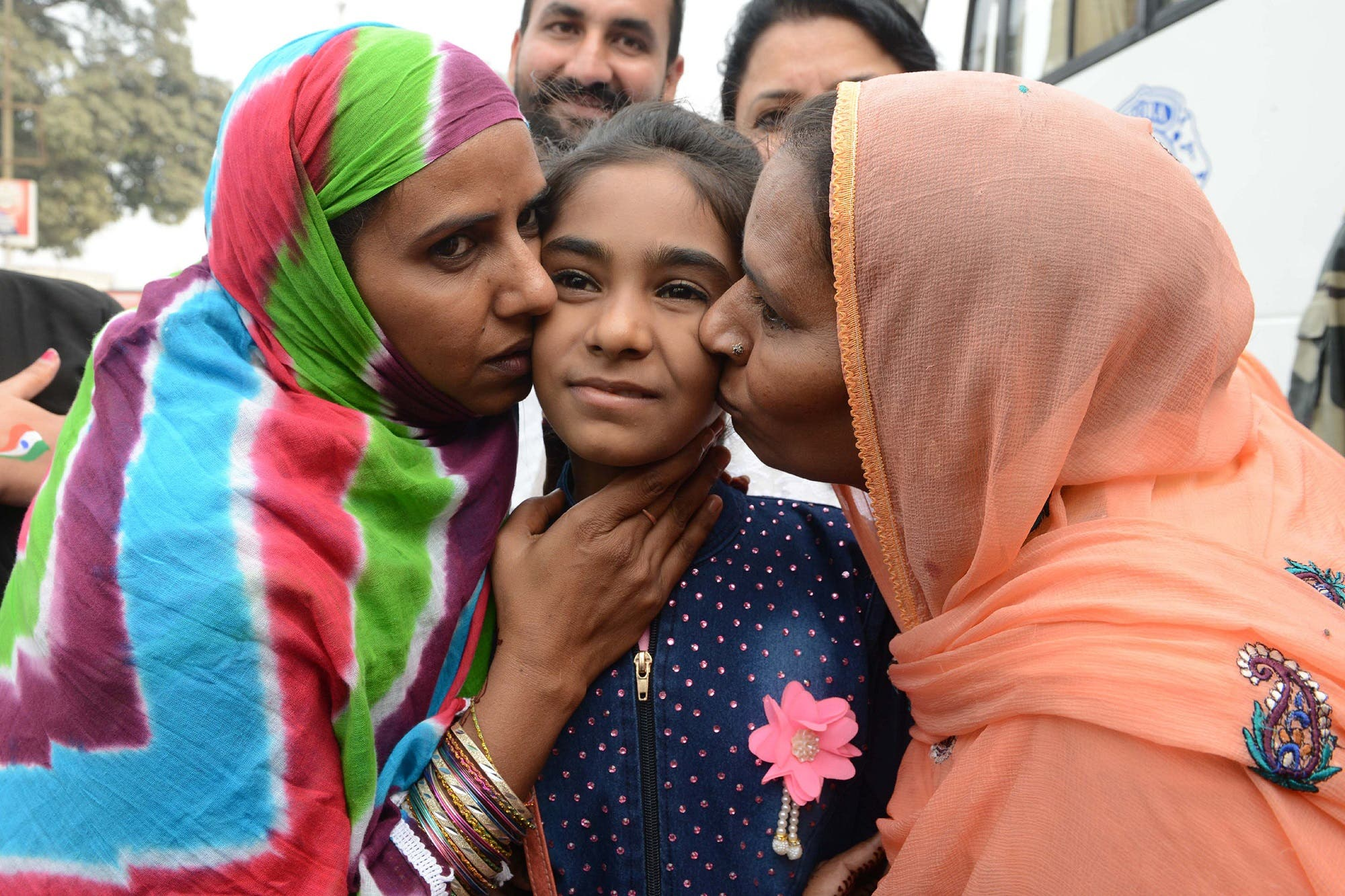 Hina was born in a prison in Amritsar and was handed over to Pakistan's authorities at the Wagah border. (AFP)