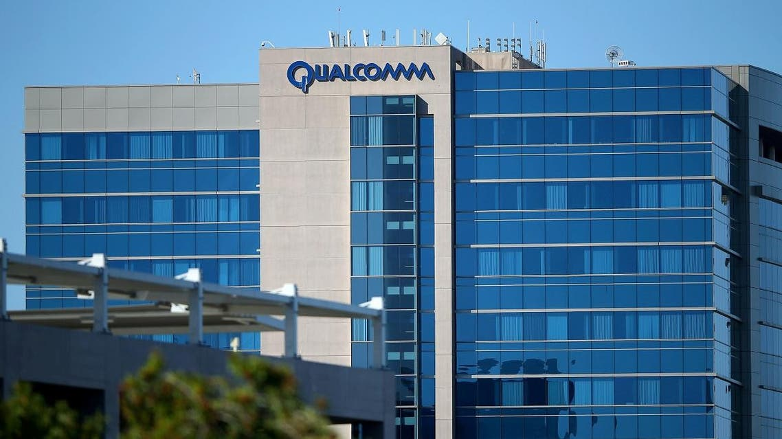 The Qualcomm logo is seen on one of its buildings in San Diego, California, US.  (Reuters)