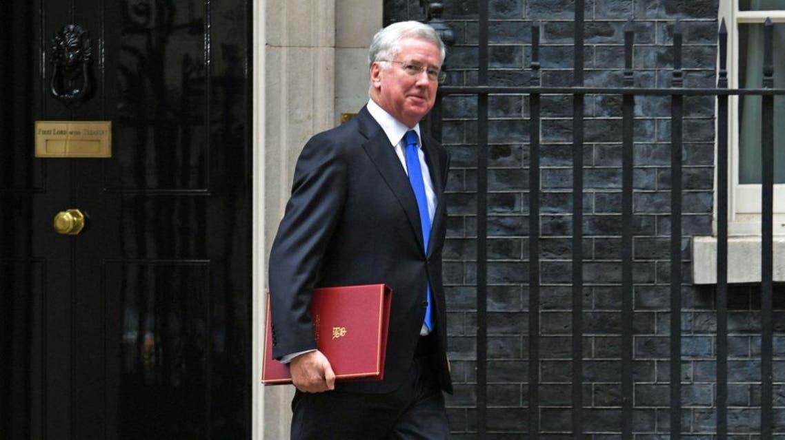 وزير الدفاع البريطاني مايكل فالون