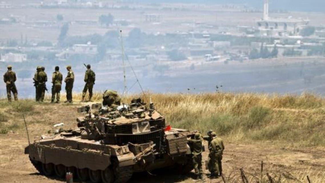 قوات إسرائيلية في الجولان المحتل