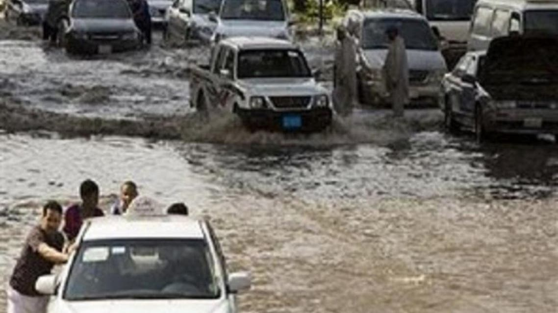 Jeddah floods. (Reuters)