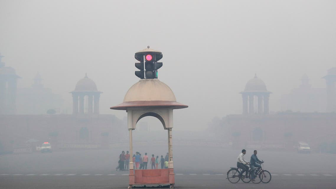 ضباب دخاني الهند 20-10-2017