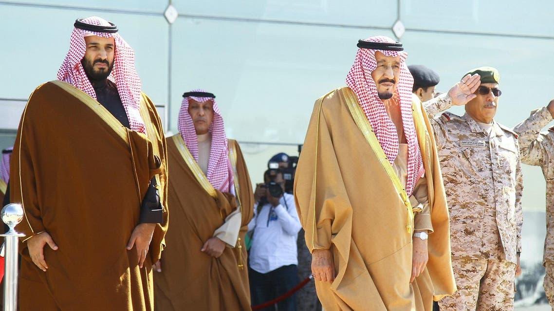 King Salman and Crown Prince Mohammed Bin Salman (File Photo: Reuters)