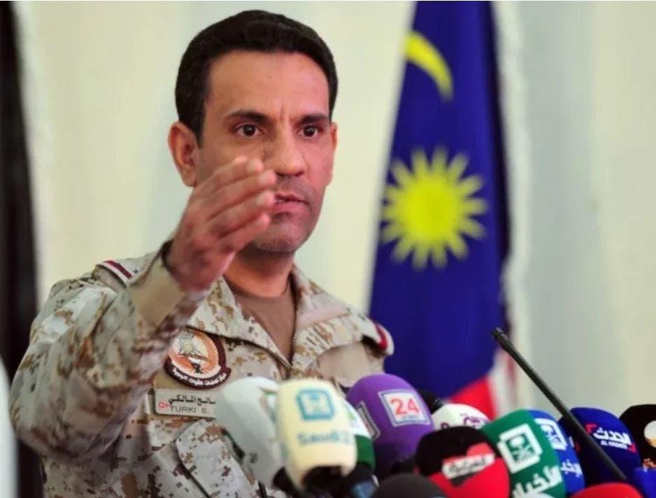 تركي المالكي المتحدث باسم التحالف العربي لإعادة الشرعية في اليمن
