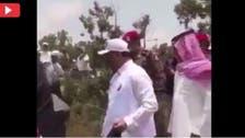 عسیر کے جاں بحق نائب گورنر کی پارک کی صفائی کی وڈیو