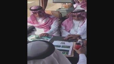 شاهد.. نائب أمير عسير الراحل يتفقد مواقع قبيل وفاته