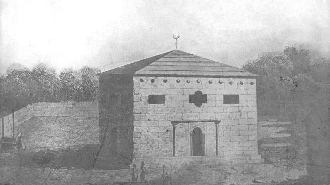 رسم لمسجد بوزانسي