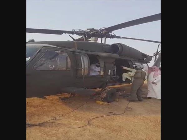آخر فيديو لنائب أمير عسير والمسؤولين قبل تحطم مروحيتهم