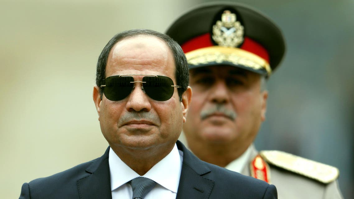 Sisi said in the interview that he does not intend to change the Egyptian constitution. (Reuters)