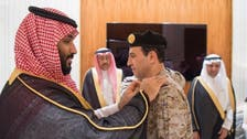 Saudi crown prince promotes new commander of naval forces