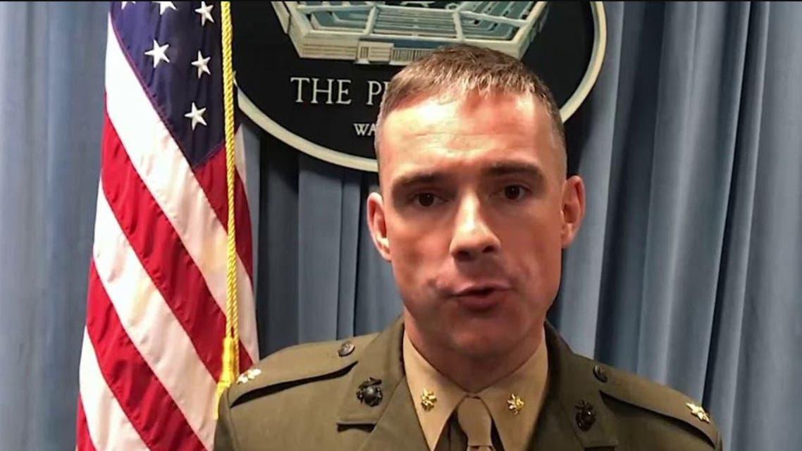 الميجور أدريان رانكين جالاوي المتحدث باسم وزارة الدفاع  الأميركية (البنتاغون) 3