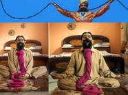 الهندي الذي لا يزال شاربه يمتد حتى أصبح كحبال الغسيل