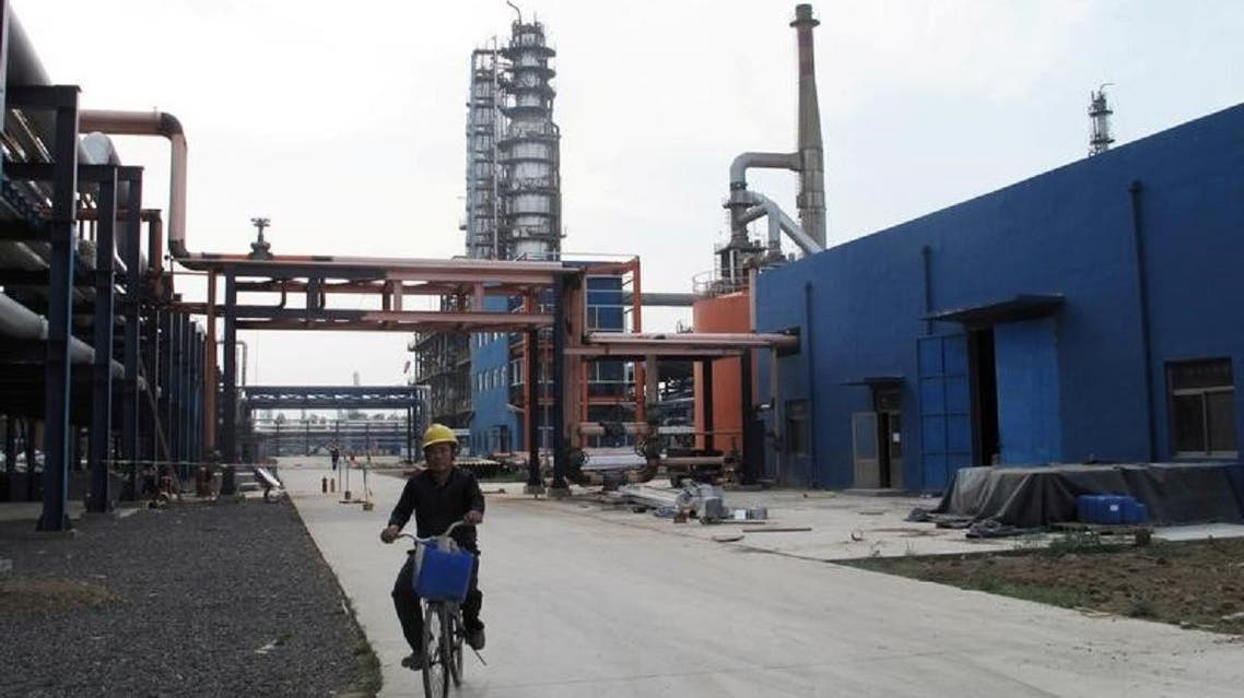 Lower imports from China reflected fewer purchases from independent refineries. (File photo: Reuters)