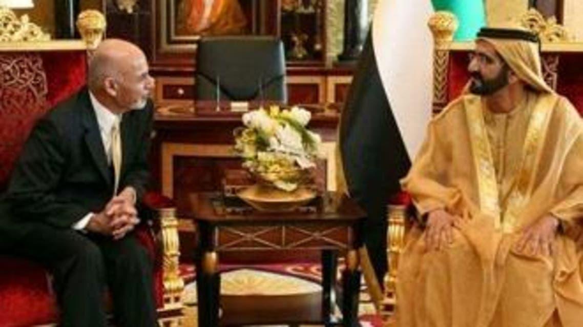 رییس جمهوری افغانستان وارد امارات متحده عربی شد
