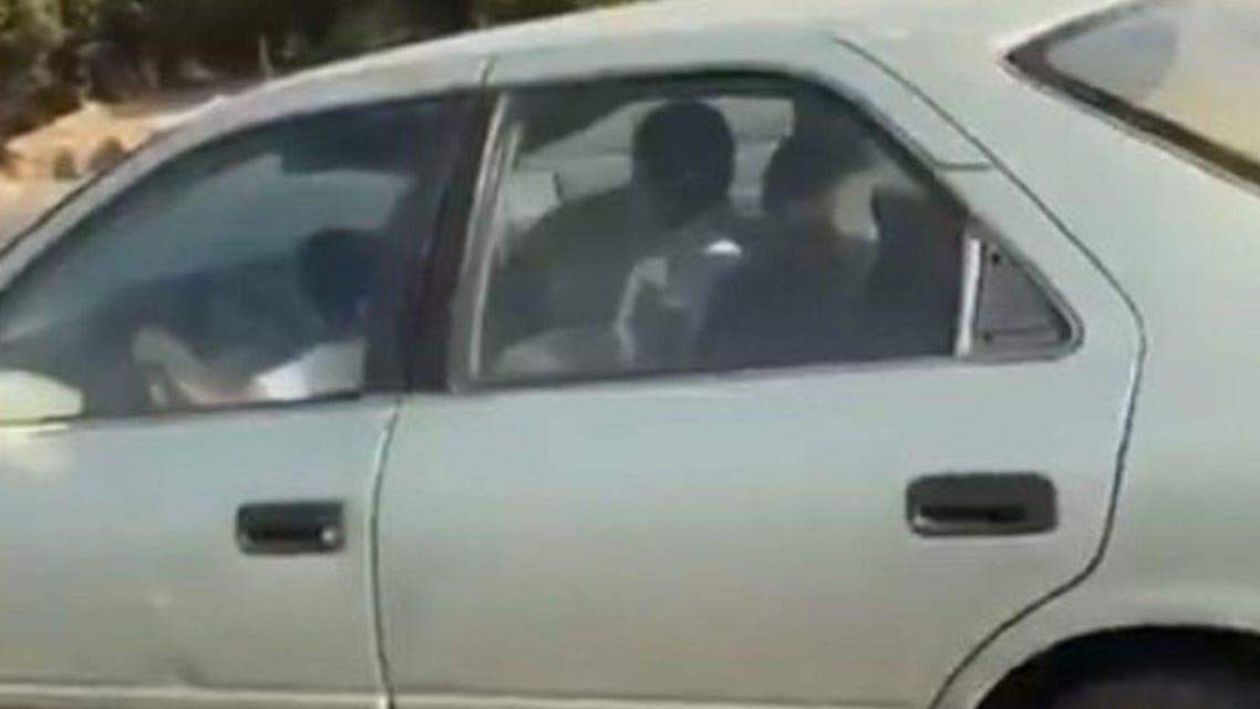eight year saudi driver on jeddah roads