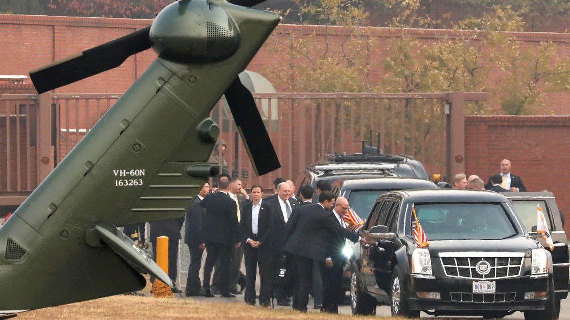 ترمب يلغي زيارة إلى المنطقة منزوعة السلاح بين الكوريتين