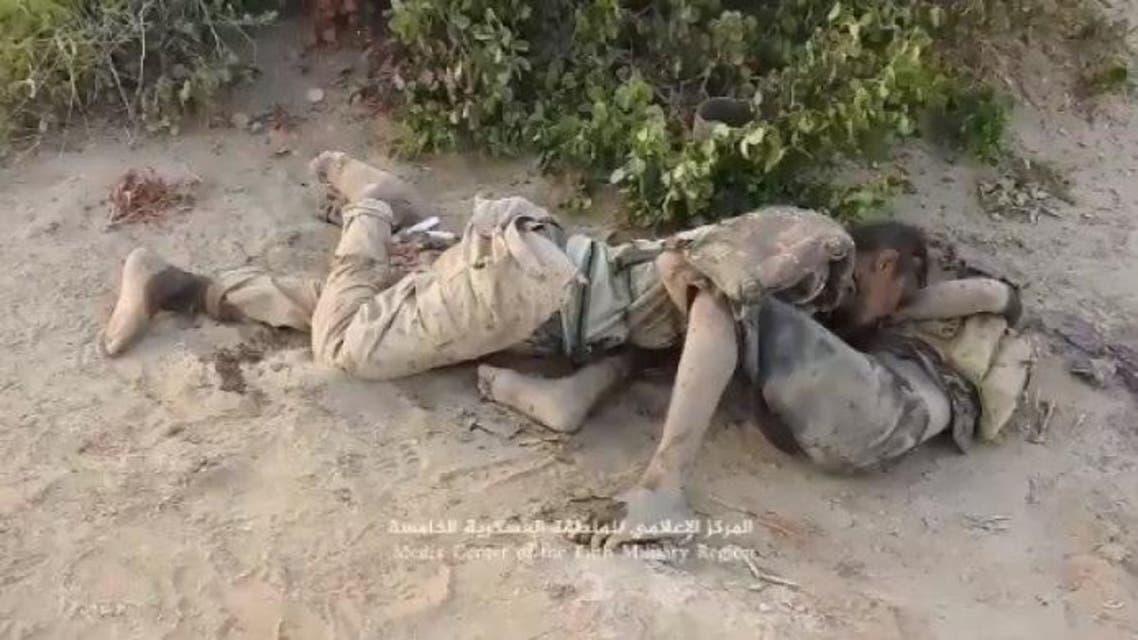 قتلى من الحوثيين في جبهة ميدي شمال غرب اليمن