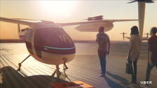 Uber in deal with NASA to build flying taxi air control software