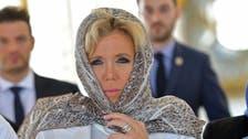 فرانسیسی خاتون اول کا حجاب میں مسجد الشیخ زاید الکبیر کا دورہ