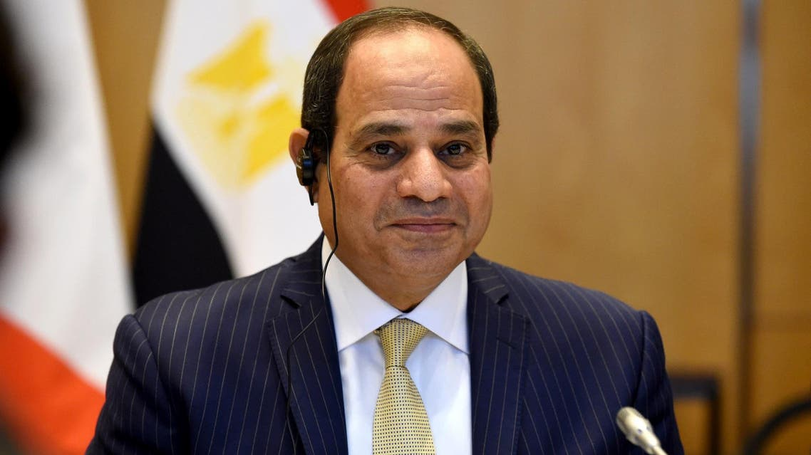 El-Sissi said Egypt's ongoing arms buildup was designed in part to equip the country to deal with terrorism. (AFP)