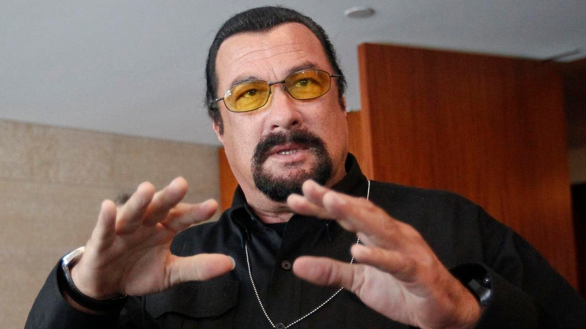 U.S. actor Steven Seagal speaks to the media at a news conference in Moscow June 2, 2013. U.S. (Reuters)