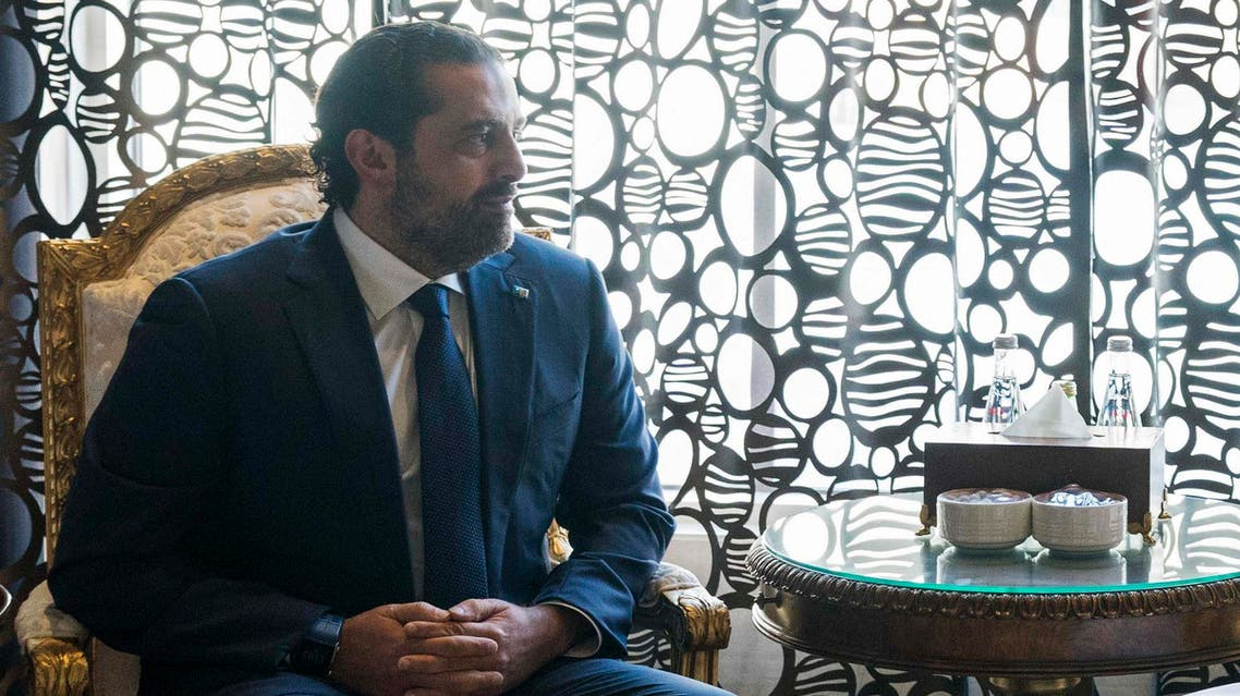 """The US official described meeting with Saad Hariri as """"diplomatic conversations."""" (WAM/AFP)"""