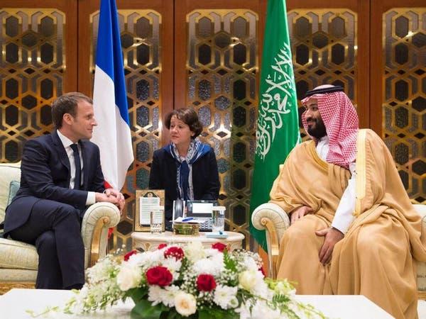 ماكرون يستنكر استهداف الحوثيين للرياض بصاروخ باليستي