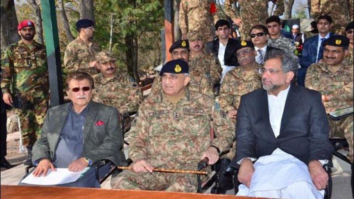 LoC visit of Pak PM and COAS