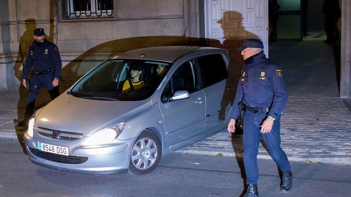 رئيسة برلمان كتالونيا المنحل تغادر السجن