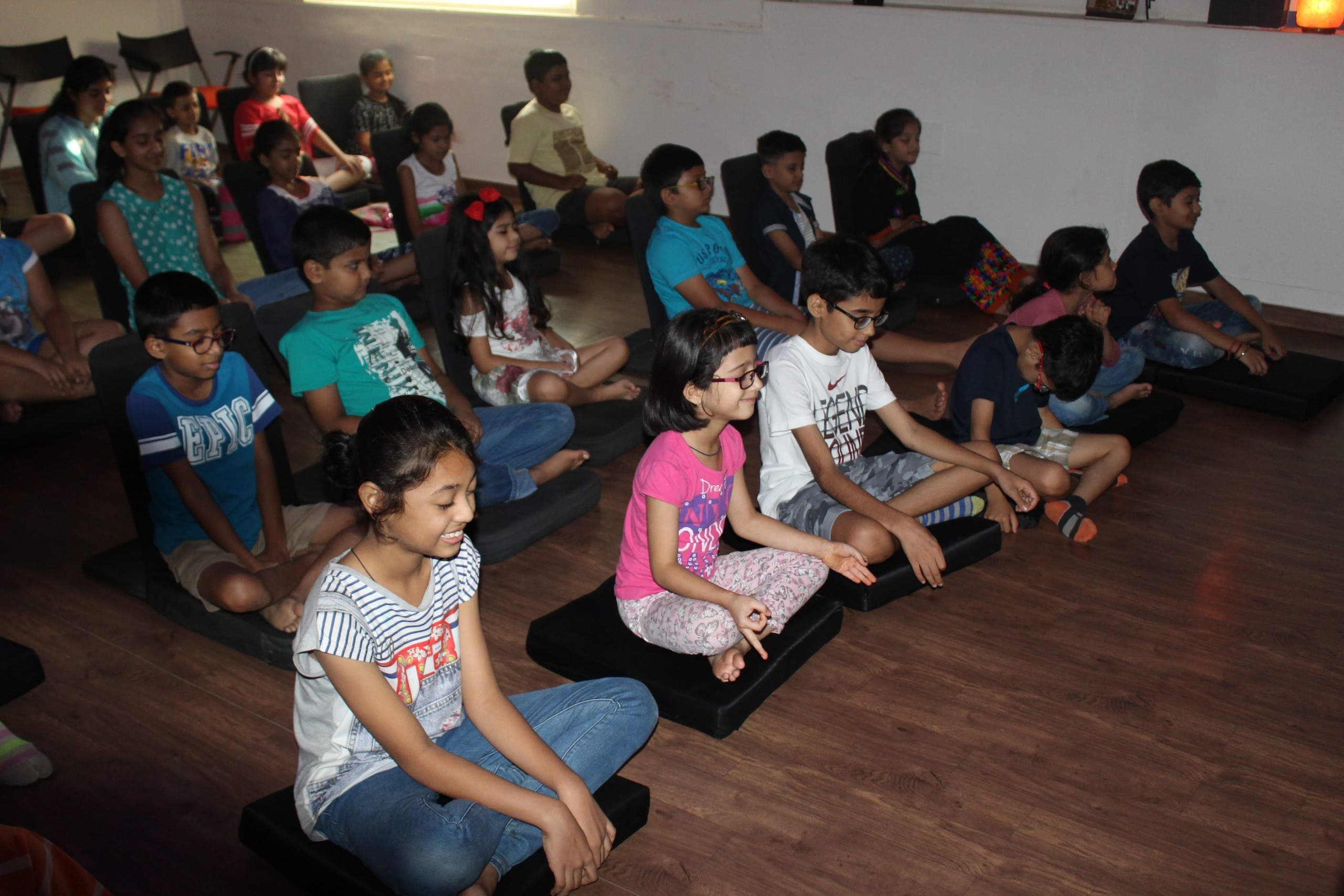 Ahmedabad's Loving Centre for Transformation organizes special meditation sessions for children. (Supplied)
