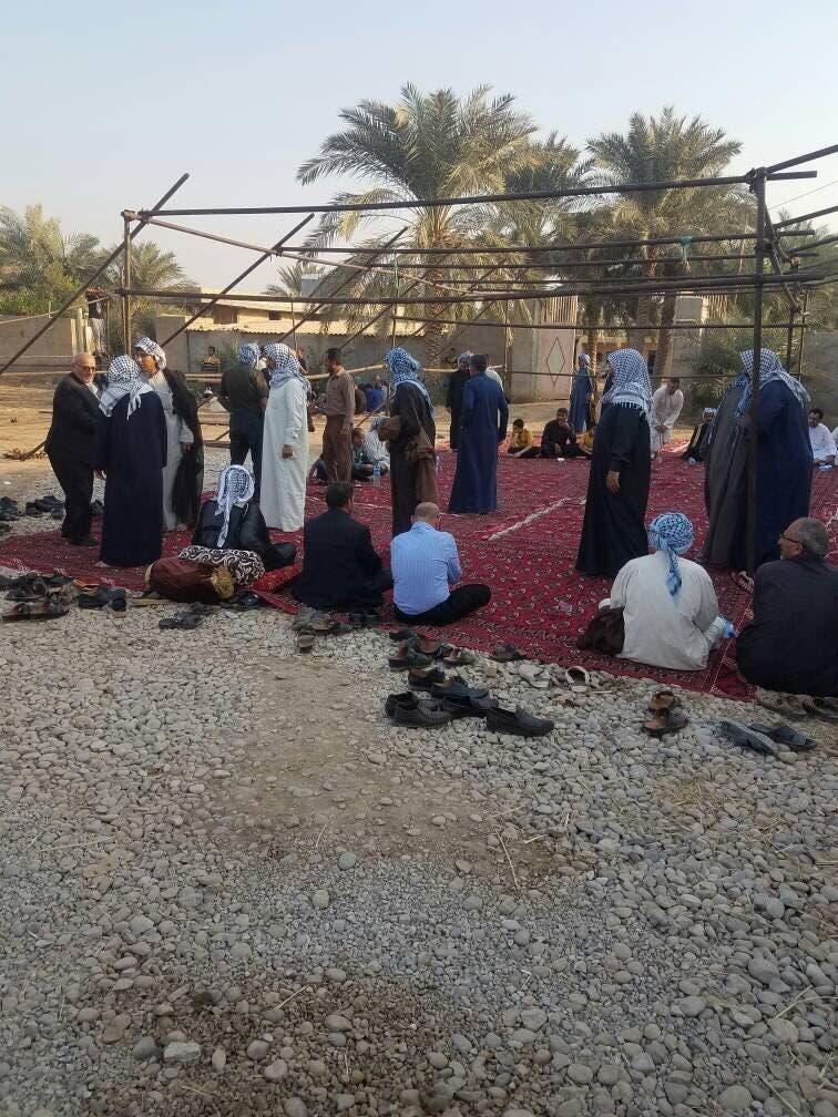 مراسم ترحیم احمد مولی در شعیبیه