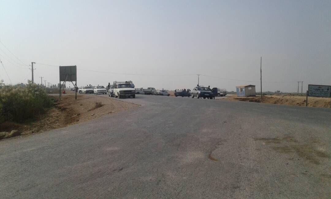 نیرویهای انتظامی در شعیبیه