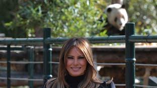 السيدة الأميركية الأولى تستمتع بالسياحة في بكين