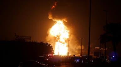 البحرين: حريق خط أنابيب النفط ناجم عن عمل تخريبي