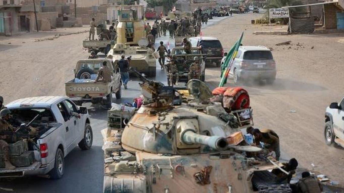 قوات عراقية  تشارك في عملية استعادة القائم يوم 3 نوفمبر