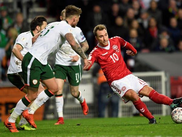 الدنمارك تسقط بالتعادل السلبي أمام إيرلندا
