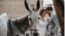 مصری دلہا، جرمن دلہن کا غیر روایتی عروسی فوٹو شوٹ کیوں مقبول ہوا؟