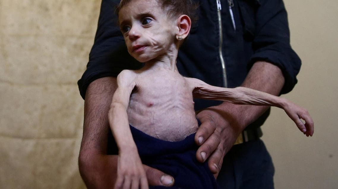 'At the doors of starvation:' siege chokes Damascus suburbs