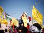 عشرات الآلاف من الفلسطينيين يحيون ذكرى وفاة عرفات بغزة
