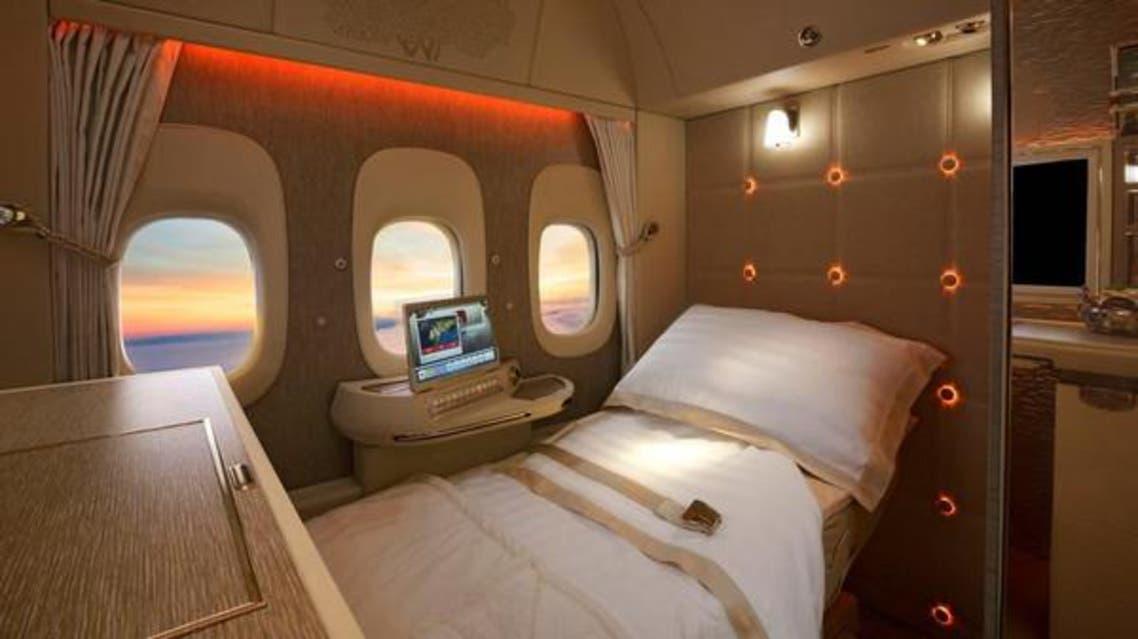 هواپیمایی امارات سویت با پنجره مجازی در اختیار مسافران درجه یک میگذارد