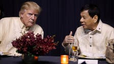 'You are the light': Philippines' Duterte croons at Trump's request