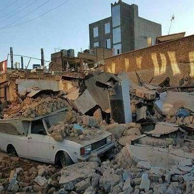 تصاویر از مناطق زلزله زده کردستان ایران