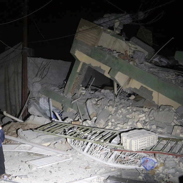 زلزال بقوة 5.4 درجة يضرب محافظة فارس جنوب غرب إيران