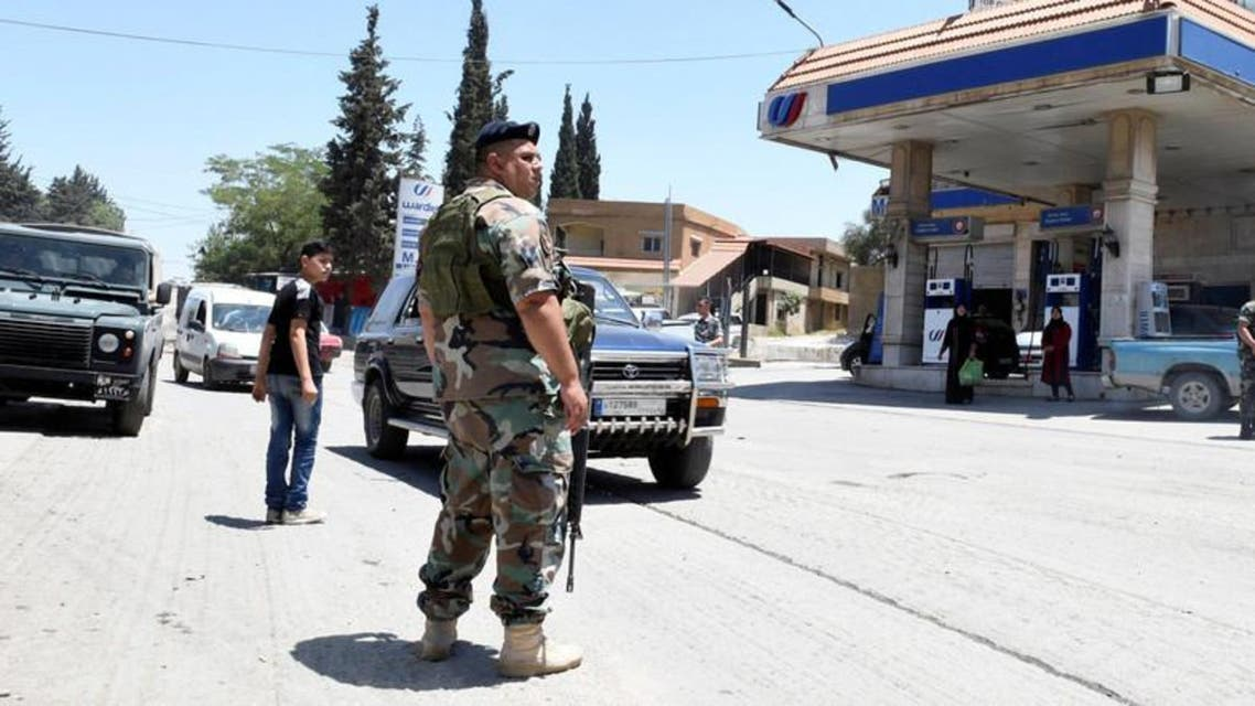 Lebanese polce forces. (Supplied)