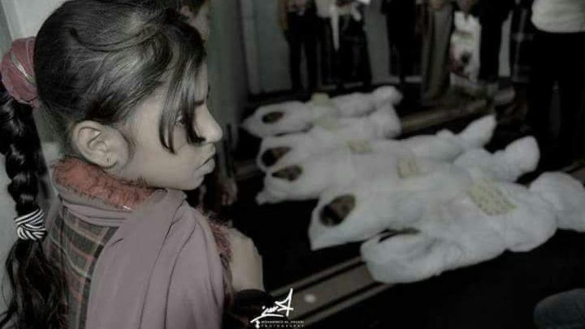 أطفال تعز ضحايا ميليشيات الحوثي