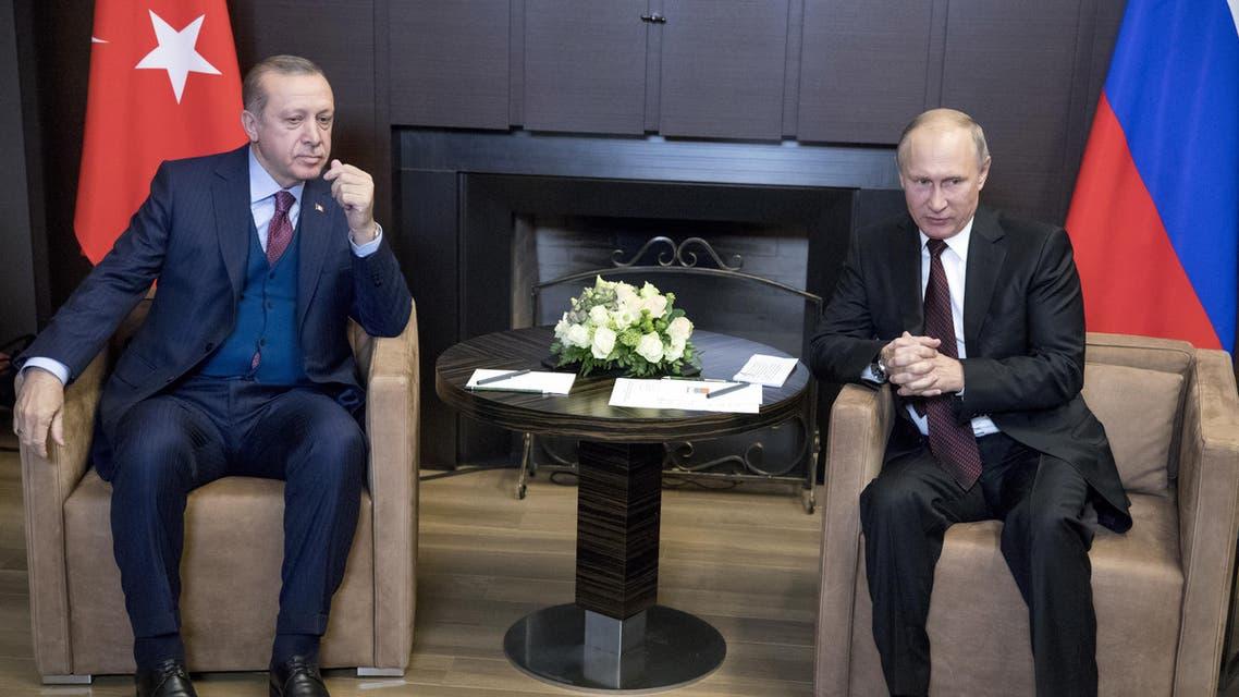بوتين واردوغان