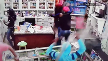 WATCH: Pharmacist in Egypt violently attacked by men with swords