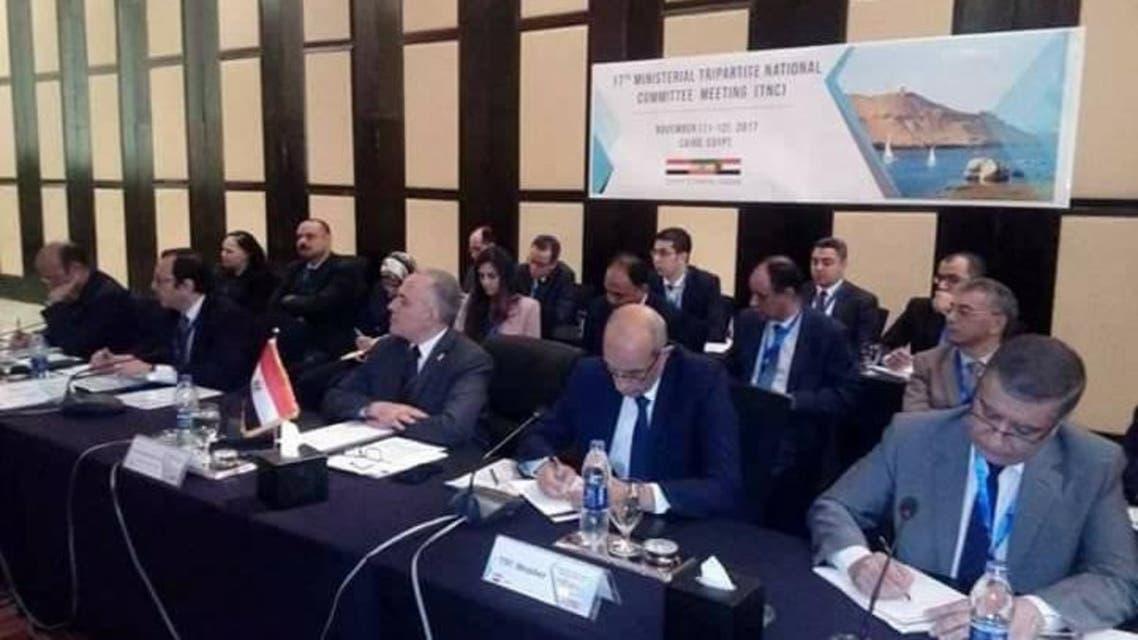 وفد مصر برئاسة وزير الري في مفاوضات سد النهضة