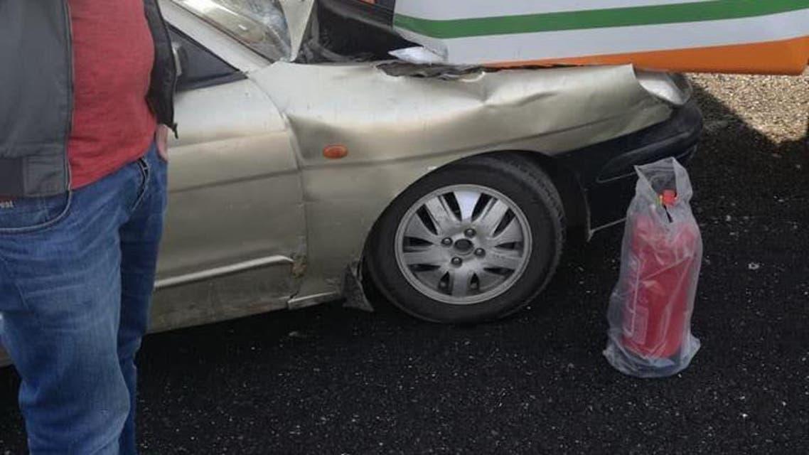 حادث غريب.. تصادم بين 24 سيارة دفعة واحدة في مصر